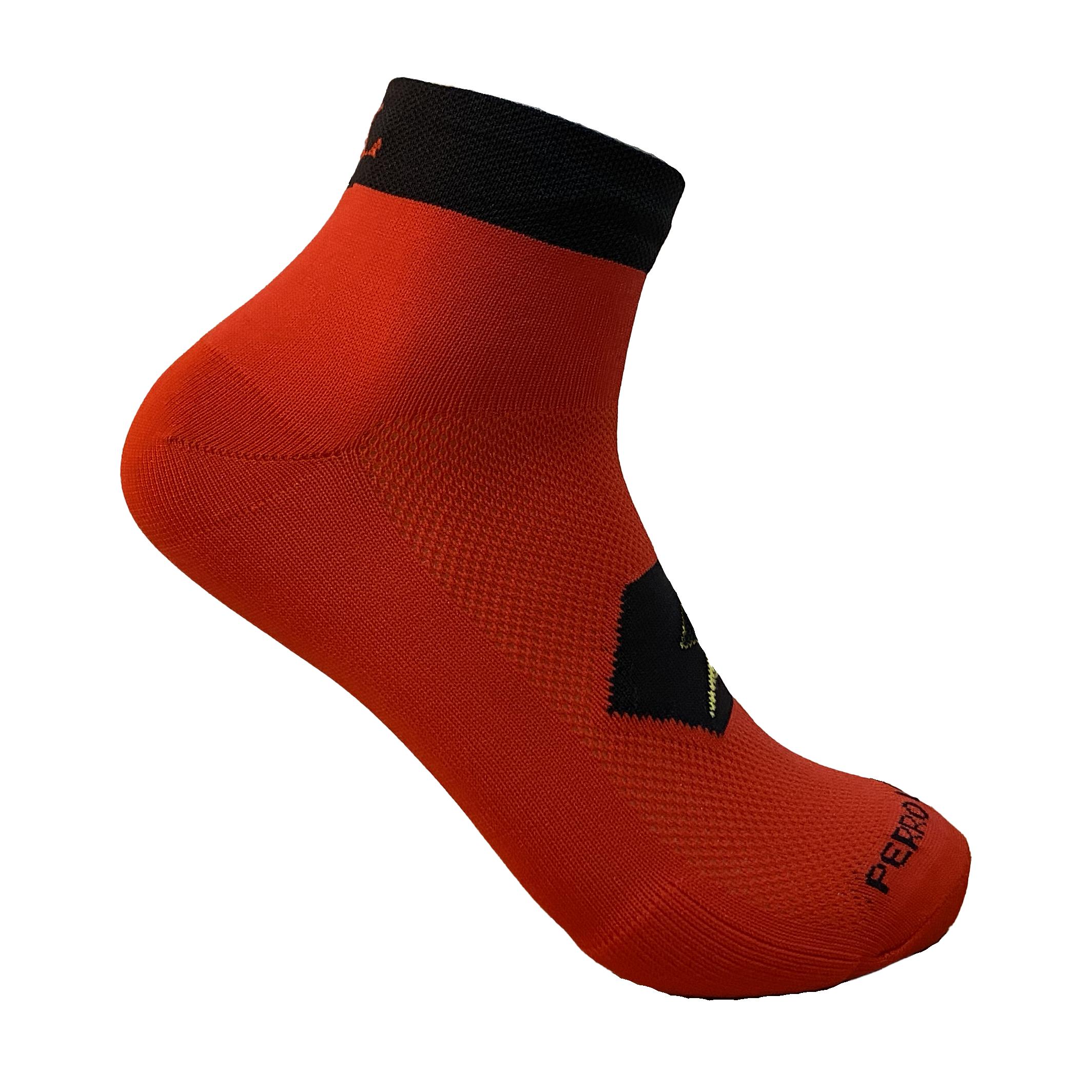 Calcetines para correr rojos meryl
