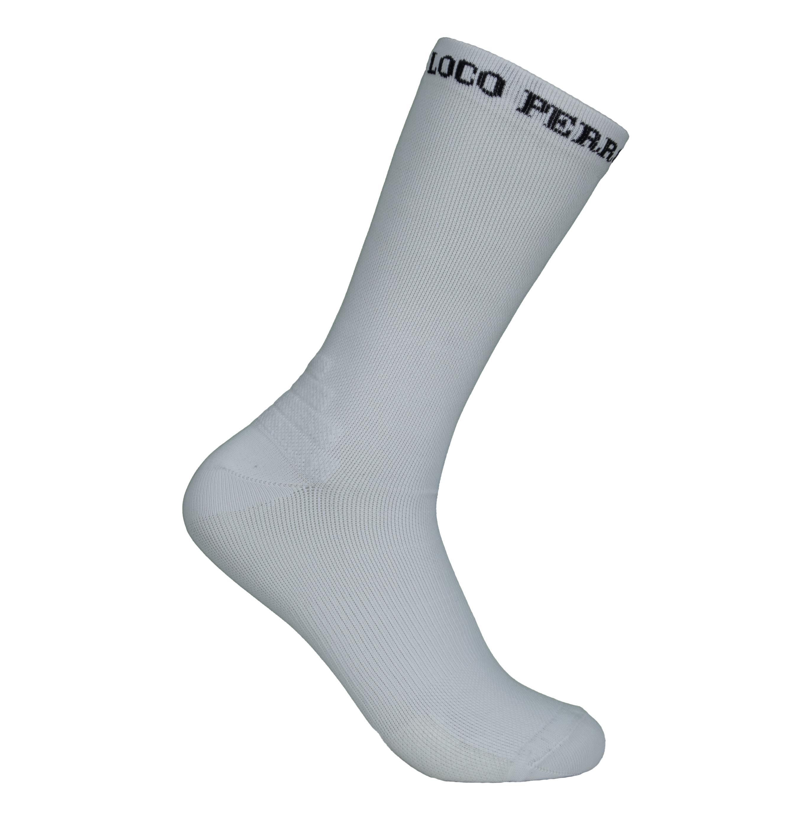 Calcetines para correr blancos