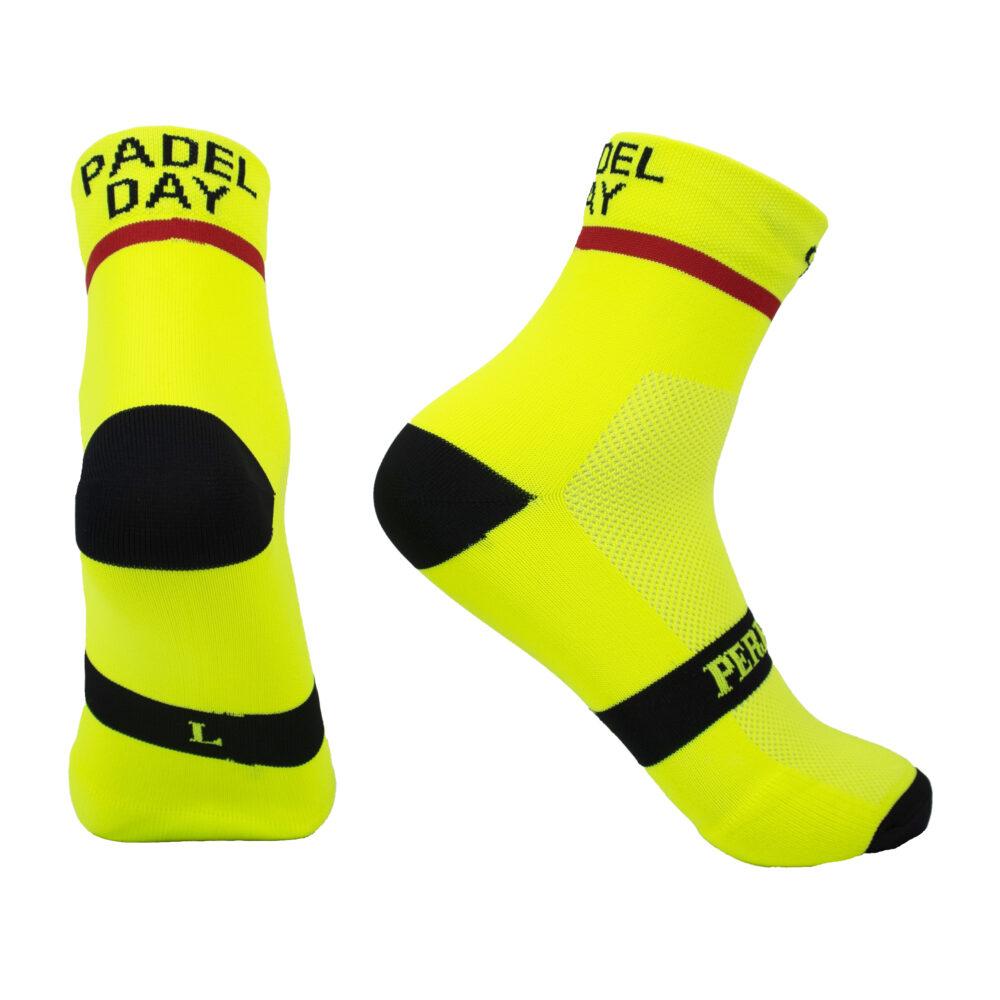 Calcetines Anti olores padel day amarillos