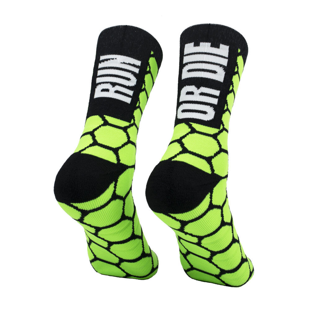 calcetines para correr verdes